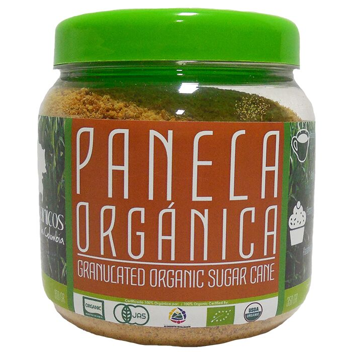 Panela orgánica granulada natural - organic food